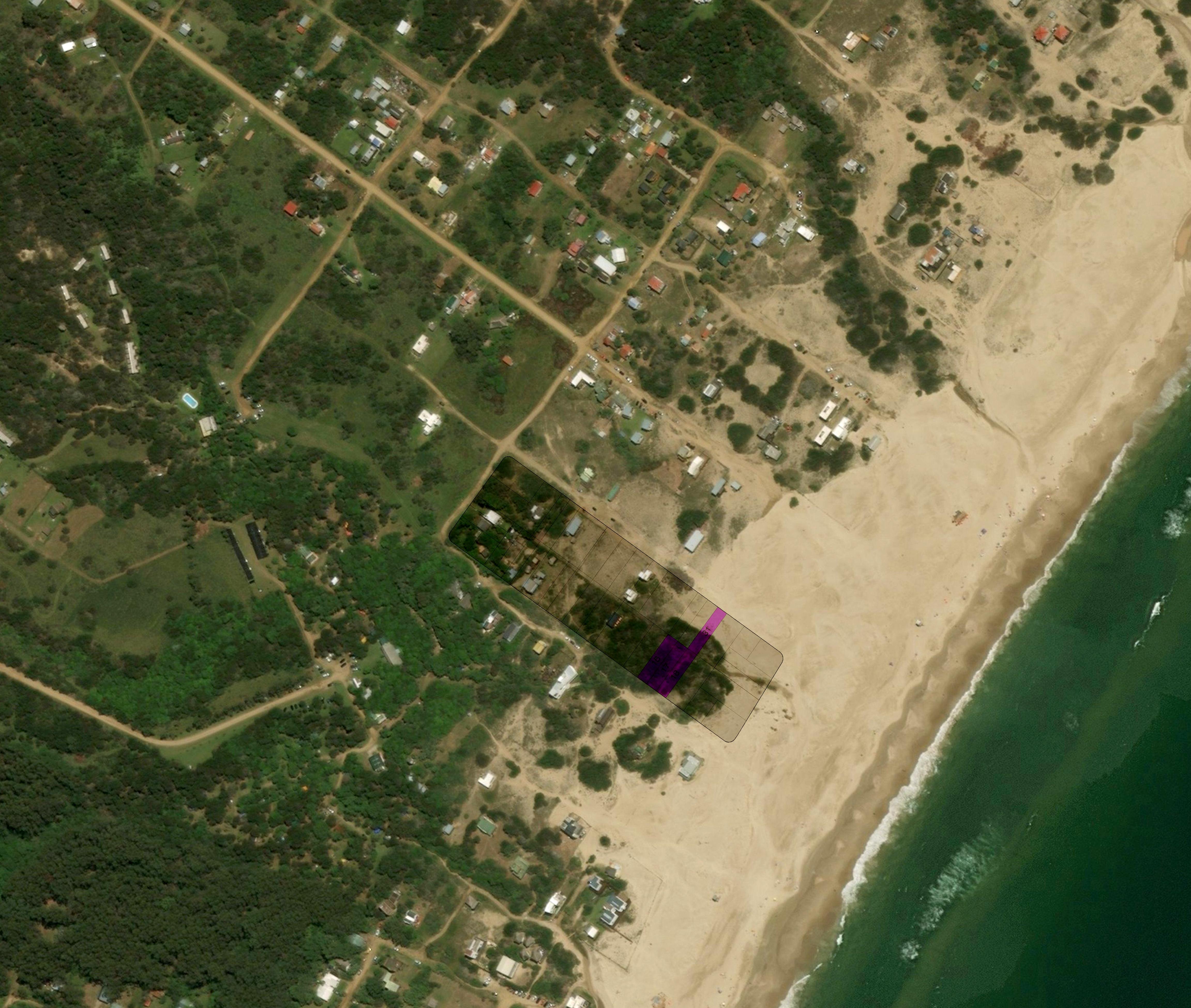 Punta Rubia, Manzana 4, Solares 16, 17, 18 y 31